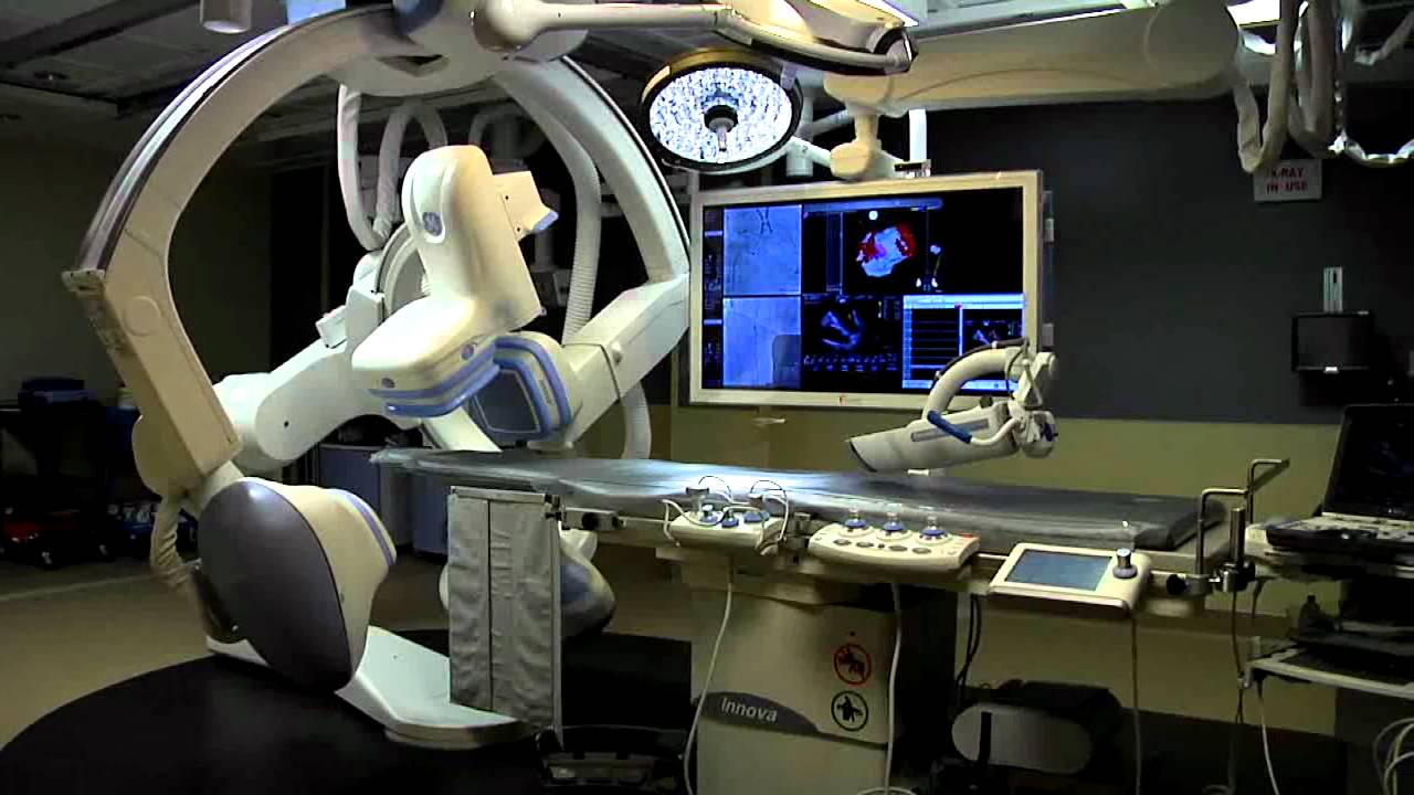 GE 2121 IQ Electrophysiology EP Lab